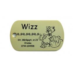 Medalion lux Wizz