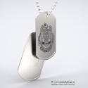 Set medalion militar MAPN inox