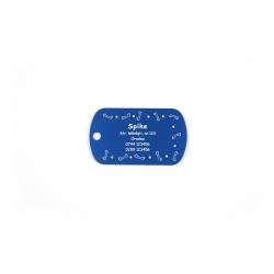 Medalion Dog-Tag personalizat