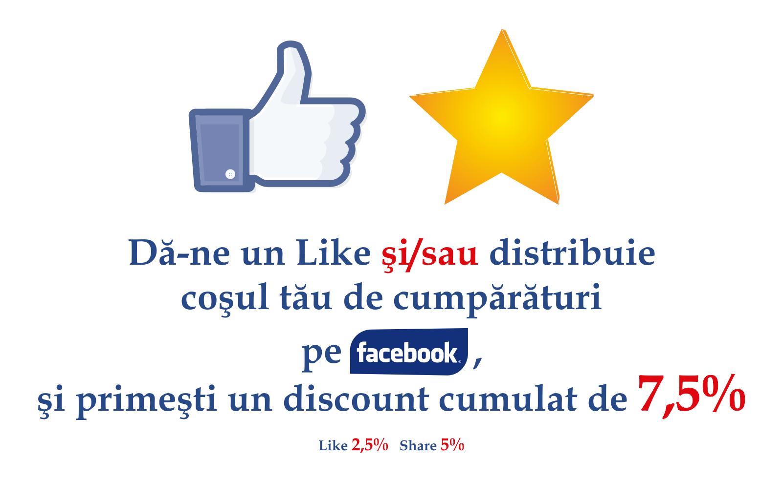 facebook reducere