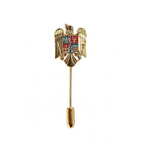 Insigna Stema Romania cu ac