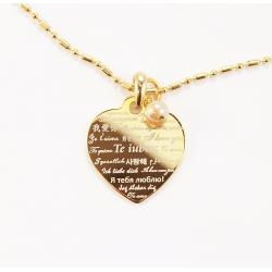 Medalion Te iubesc