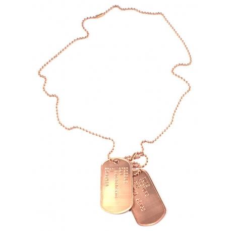 Set medalion militar Cupru