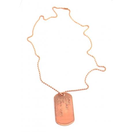 Medalion militar cupru