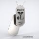 Set medalion militar Smurd inox