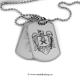 Set medalion militar Politia inox