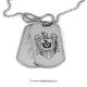 Set medalion militar Pompierii inox