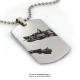 Medalion inox Draco