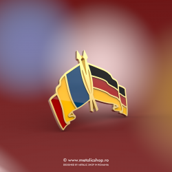 Insigna Romania - Germania