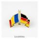 Insigna Romania - Germania Incrucisat