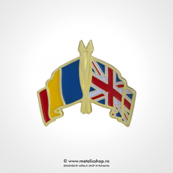 Insigna Romania - Marea Britanie