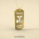 Medalion lux Smurd