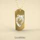 Medalion lux Urs