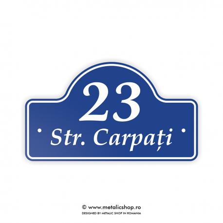 Numar de casa Carpati