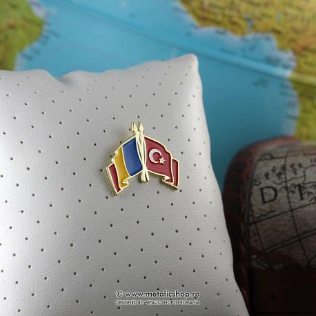 Insigna Romania - Turcia