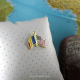 Insigna Romania - USA