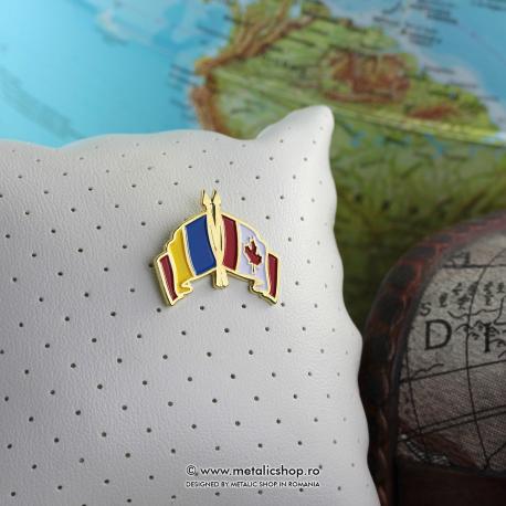Insigna Romania - Canada
