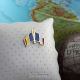 Insigna Romania - Franta