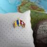 Insigna Romania - Elvetia