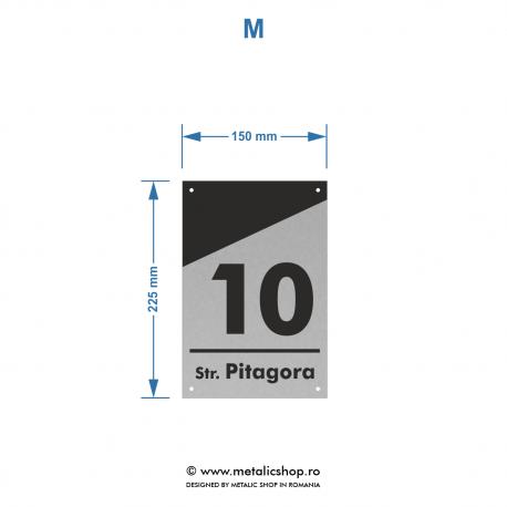 Numar de casa Pitagora