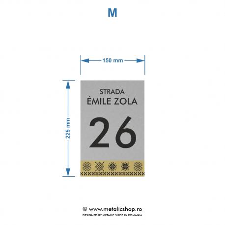 Numar de casa Zola