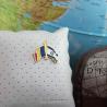 Insigna Romania - Israel