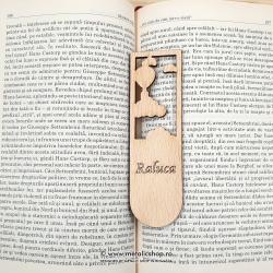 Semn de carte cu nume model 2