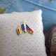 Insigna Romania - Cehia