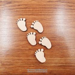 Set picioruse din lemn