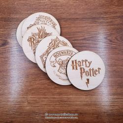 Set suporturi de pahar Harry Potter