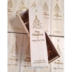 Cutie pentru vin personalizata