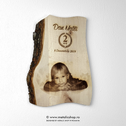Tablou fotogravura din lemn