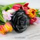 Trandafir metalic handmade