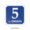 Numar de casa din aluminiu model Oradea