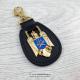 Breloc elegant Stema Politia Romana