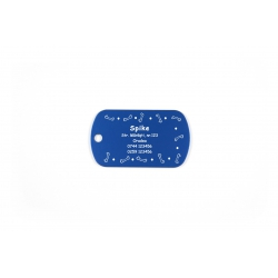 Medalion Dog-Tag personalizat