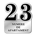 Numere de apartament